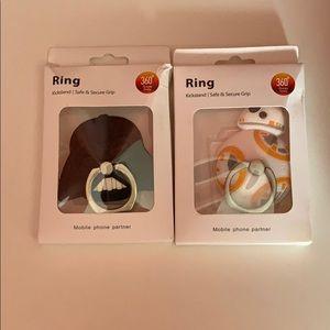 Star Wars cell phone ring Kickstand